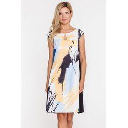 22fa7a3851 Sukienka z artystycznym motywem - Paola Collection