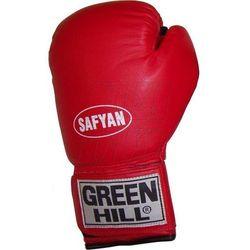 Rękawice bokserskie Green Hill Safyan 14oz czerwone