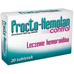PROCTO-HEMOLAN CONTROL 1000 mg 20 tabletek