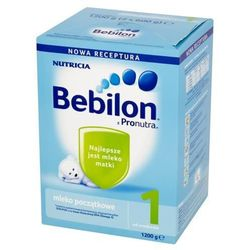 Bebilon 1 z Pronutra mleko modyfikowane początkowe od 0-6 miesięcy proszek 1200g