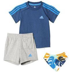 Komplet dziecięcy adidas Dres I Summer Gift Pack Kids AJ7359