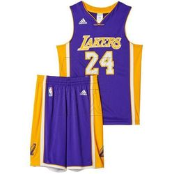 Komplet koszykarski adidas Los Angeles Lakers Kobe Bryant M Replica Junior AC0558