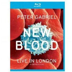 Peter Gabriel - New Blood BLU-RAY