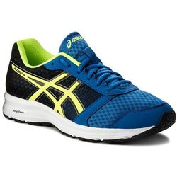 f6c1aadd Asics Buty - patriot 9 t823n victoria blue/safety yellow/black 4507
