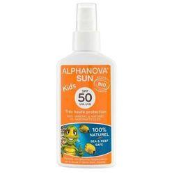 Spray Przeciwsłoneczny SPF 50, 125g Alphanova Kids