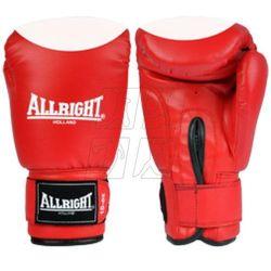 Rękawice bokserskie Allright 10 oz czerwone