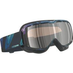 Gogle Scott AURA slab purple/blue (purple chrome)