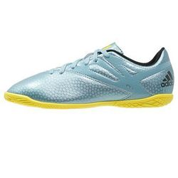 adidas Performance MESSI 15.4 IN Halówki matt ice metallic/bright yellow/core black
