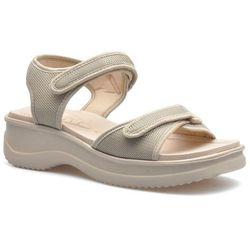 Sandały Azaleia 320-321 Beżowe, kolor beżowy