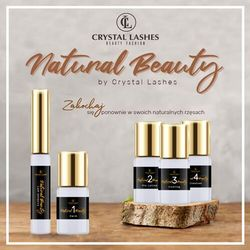 "Zestaw do laminacji rzęs ""natural beauty"" by marki Crystal lashes"