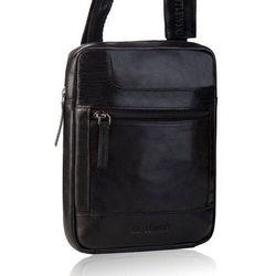 Męska torba na ramię listonoszka betlewski tbs-303 czarna