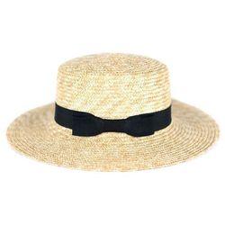 Miss glow Kapelusz damski na lato słomkowy panama plażowy