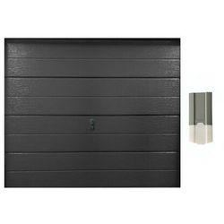 Zestaw brama garażowa segmentowa gładka balido antracytowy + napęd eco line marki Vente-unique.pl