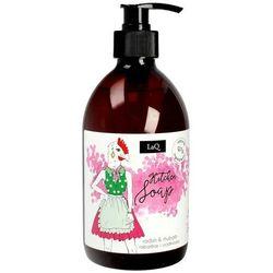LaQ Naturalne mydło kuchenne o zapachu rabarbaru i rzodkiewki 500mle