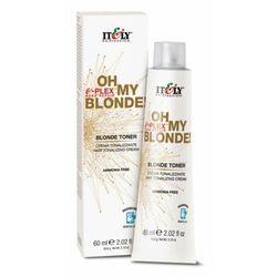 Itely hairfashion oh my blonde! blonde toner - rose gold toner do włosów rozjaśnionych (różowe złoto)