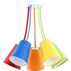 Tk lighting Żyrandol wire colour 5xe27/60w/230v (5901780521073)