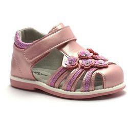 Wojtyłko Sandały dla dziewczynki 41021 różowe