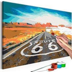 Obraz do samodzielnego malowania - route 66