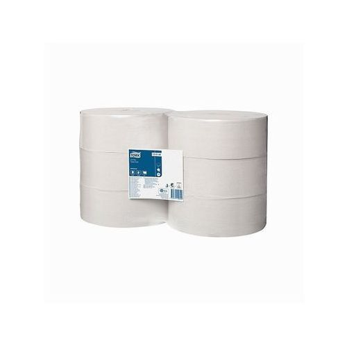 Papier toaletowy jumbo Tork T1, 1 warstwa, makulatura - 6 rolek
