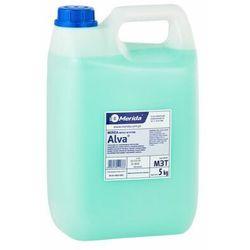 Mydło w płynie alva turkusowe 5 kg wysokiej jakości-pielęgnacyjne marki Merida