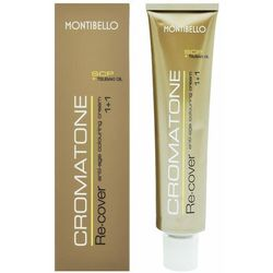 Montibello cromatone recover farba 60ml do włosów siwych 5.40 passion copper, kolor miedź