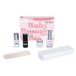 Zestaw do zdobień baby boomer: 2 lakiery + paint gel + akcesoria marki Neonail