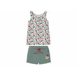 LUPILU® Zestaw dziewczęcy koszulka + szorty, 1 z (4056233892819)