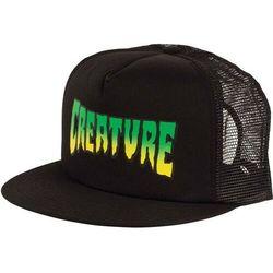czapka z daszkiem CREATURE - Creature Logo Mesh Trucker High Profile Hat Black OS Mens Creature Blac