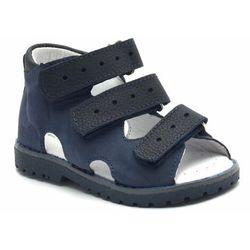 Kornecki Dziecięce buty profilaktyczne or 03/103 kobalt (5903991683120)