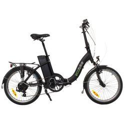 Rower elektryczny ECOBIKE Even Czarny + DARMOWY TRANSPORT!