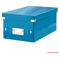 Pudełko na DVD LEITZ C&S WOW niebieskie 60420036
