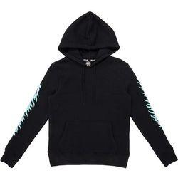 bluza SANTA CRUZ - Flame Dot Hood Black (BLACK) rozmiar: 10