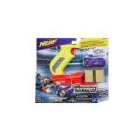 Kolejki i tory dla dzieci, Nerf Nitro Thrott leshot Blitz, zielony - Hasbro