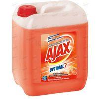 Płyny i żele do czyszczenia armatury, Płyn uniwersalny Ajax Optimal7 czerwona pomarańcz 5 l