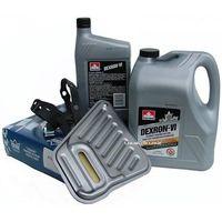 Pozostałe oleje, smary i płyny samochodowe, Filtr oraz olej Dextron-VI automatycznej skrzyni biegów AXODE Ford Taurus -1995