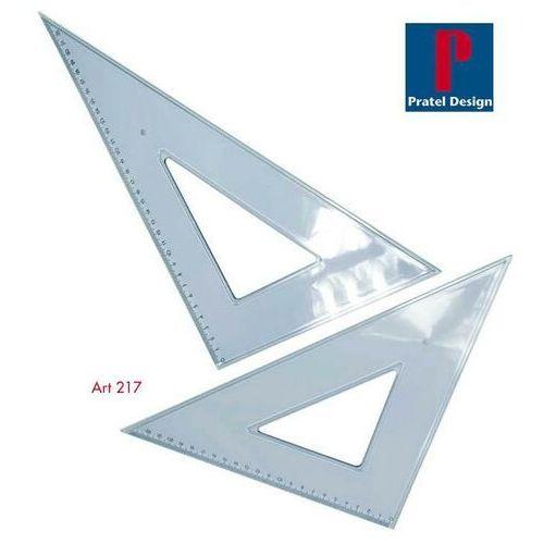 Przybory geometryczne, Ekierka PRATEL duża 25cm45 21145 PR
