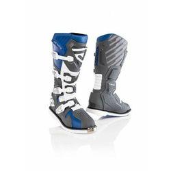 Acerbis buty x-race z ukrytym zawiasem sza/niebie