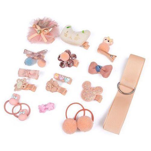 Pozostała biżuteria, Zestaw dla dziewczynki gumki spinki prezent