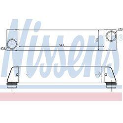 Chłodnica powietrza doładowującego - intercooler NISSENS 96657