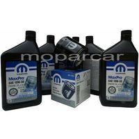 Filtry oleju, Filtr oraz olej MOPAR 10W30 Chrysler Pacifica