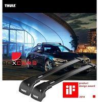 "Pozostałe bagażniki i akcesoria transportowe, Thule WingBar Edge Black (Fixpoint / Flush Rail) 9592B Length ""M"""