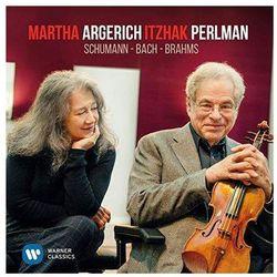 Perlman & Argerich Play Schumann, Bach & Brahms