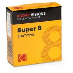 KODAK Vision3 500T Super 8/15 m film negatyw kolor