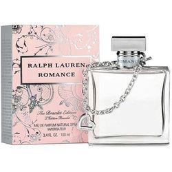 Ralph Lauren Romance woda perfumowana Edp 100ml + Bransoletka dla kobiet