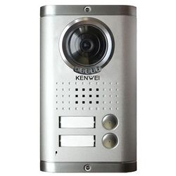KW-1380MC-2BS 600 Panel zewnętrzny z kolorową kamerą 600 linii srebrny, dwuabonentowy