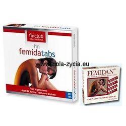 fin Femidatabs (dawniej Femidan) - Jędrna i piękna cera, sprężyste i zdrowe stawy - Finclub