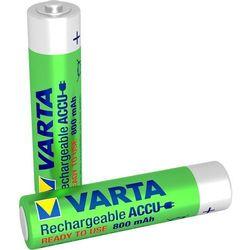 Varta Rechargeable accu Ready2Use Micro AAA Ni-MH akumulator (zestaw 2 szt. 800 mAh)