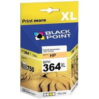 Tusze do drukarek, Black Point HP No 364XLY (CB325EE) yellow - 12 ml