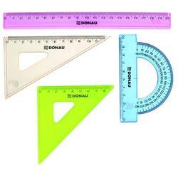 Zestaw geometryczny DONAU, mały, zawieszka, mix kolorów