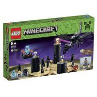 Klocki dla dzieci, Lego MINECRAFT Smok kresu 21117